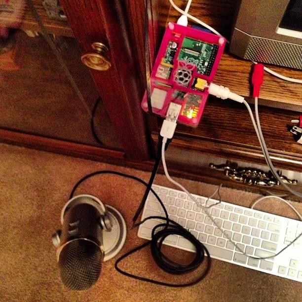 Raspberry Pi as a Baby Monitor - matt kaar